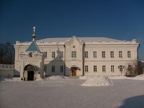 Раифский монастырь, часовня с родниковой водой