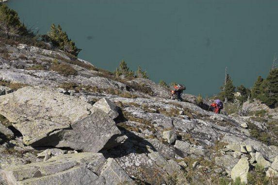 Алтай - 2006, Подъем к озеру под перевал Крепкий