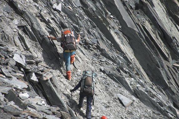Алтай - 2006, Подъем на перевал 1Б Восточный Капчальский